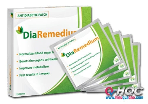Cao dán DiaRemedium