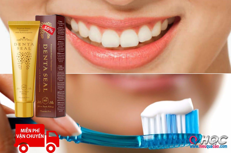 Kem đánh răng Denta Seal làm trắng và ngăn ngừa sâu răng