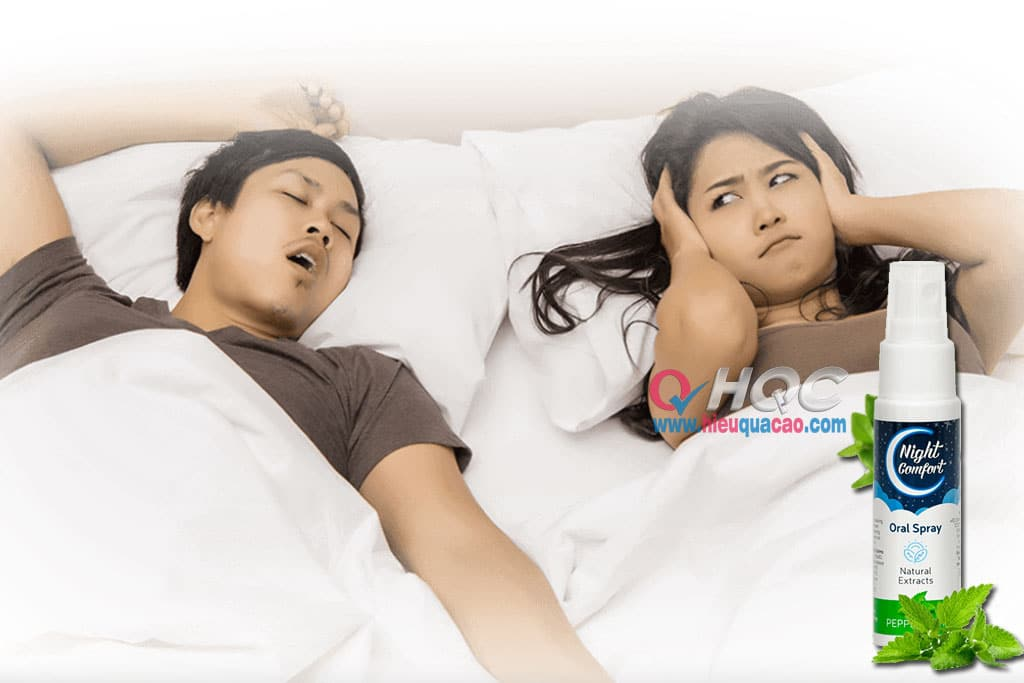 Night Comfort xịt chữa ngáy ngủ nhanh nhất