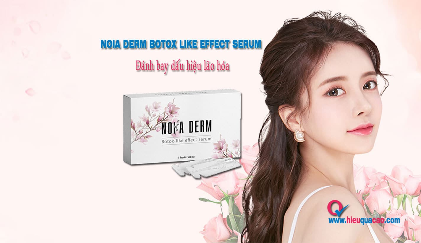 Noia derm Botox like effect serum